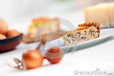 Fransk lorraine quiche