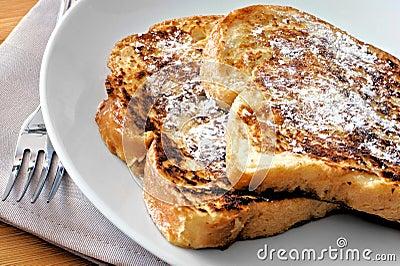 Fransk rostat bröd