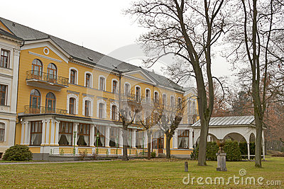 Frantiskovy Lazne park architecture
