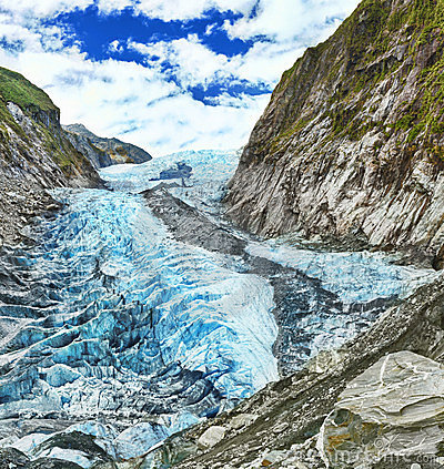 Free Franz Josef Glacier Royalty Free Stock Photos - 23666368