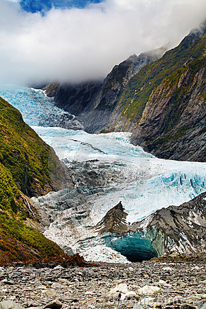 Free Franz Josef Glacier, New Zealand Royalty Free Stock Image - 9844356