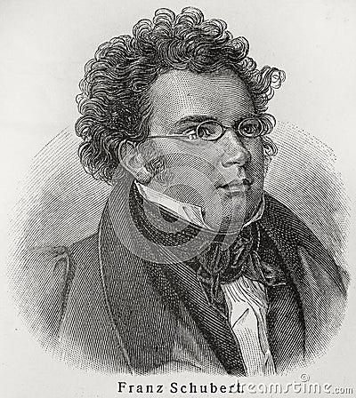 Free Franz Schubert Royalty Free Stock Image - 20464096