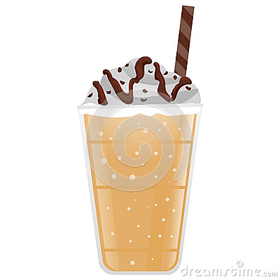 Frappe Coffee Stock Vector Image 69349537