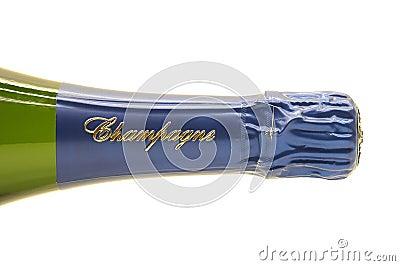 Frasco de Champagne Imagem de Stock Editorial