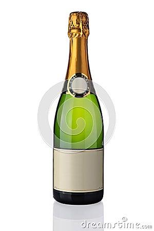 Frasco do champanhe