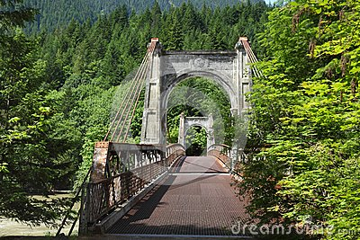 Fraser Canyon, Historic Alexandra Bridge, British