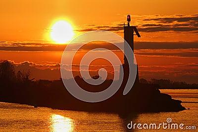 Fraser River, Harbor Sunrise