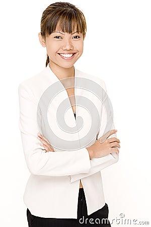 Frau in Weiß 5