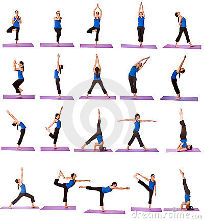 photograph about Bikram Yoga Poses Chart Printable called Yoga Poses And Names High definition - iwate-kokyo