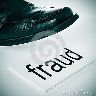 Free Fraud Royalty Free Stock Photo - 46111065