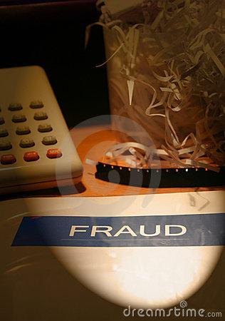 Free Fraud - White Collar Crime Stock Photo - 574610