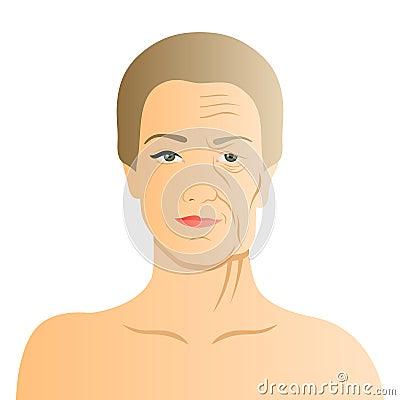 Toll die Gesichtscreme von den Falten