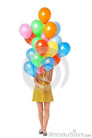 Frauenholdingballone