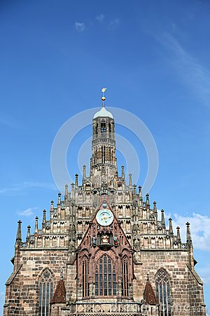 Free Frauenkirche, Nuremberg Stock Photography - 32430922