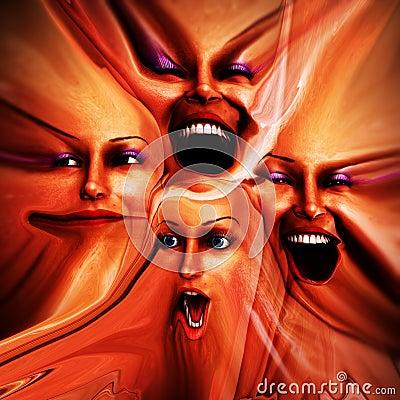 Freaky Female Emotions 10
