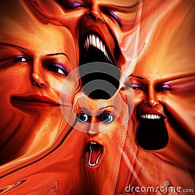 Freaky Female Emotions 11