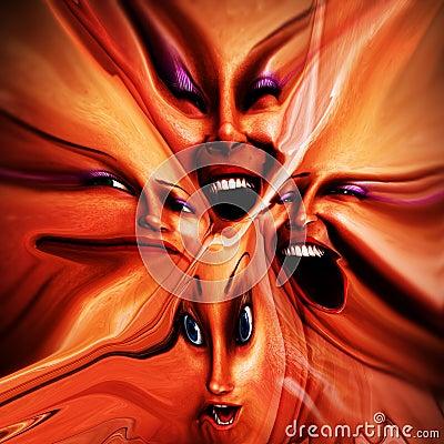 Freaky Female Emotions 12