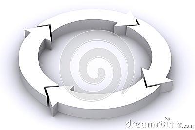 Frecce bianche