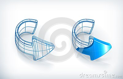 Frecce dell illustrazione