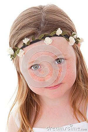 Freckles child