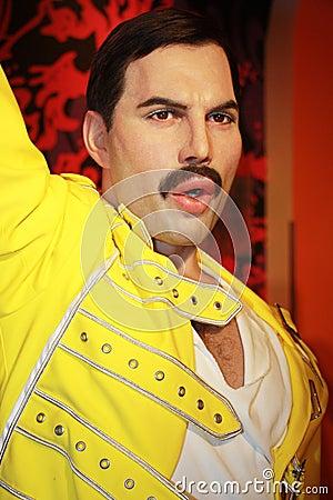 Free Freddie Mercury Stock Image - 46126601
