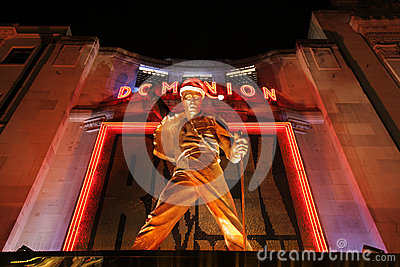 Freddie Mercury statue Editorial Stock Photo