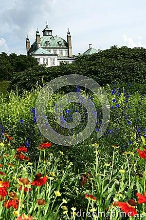 Fredensborg castel , queen garden house
