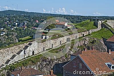 Fredriksten fortress (curtain wall)