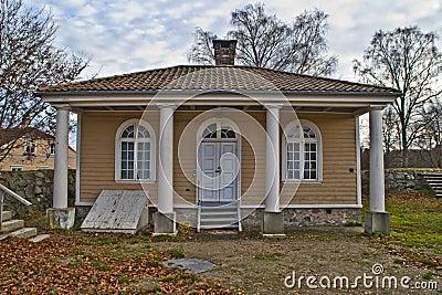 Fredriksten fortress, guard building