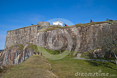Fredriksten fortress in Halden (outside area)
