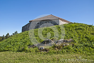 Fredriksten fortress (large tower)
