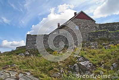 Fredriksten fortress (upper rock fort)