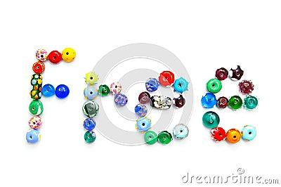 Free bead text