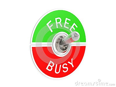 Free busy toggle switch