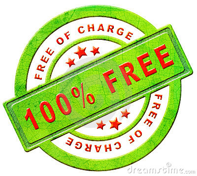 Free of charge gratis