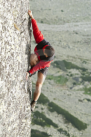 Free Free Climber Royalty Free Stock Image - 15237136