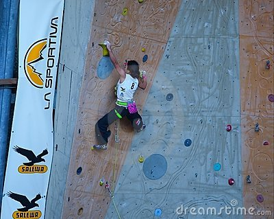 Free Climbing Editorial Image