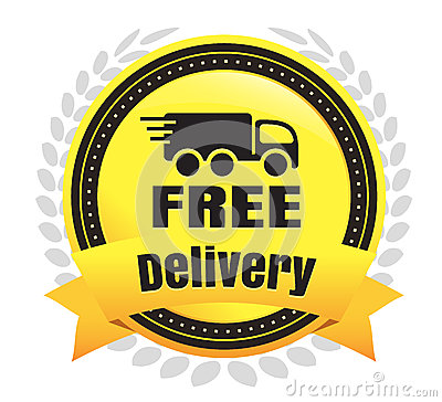 Free Deliver Ecommerce Badge