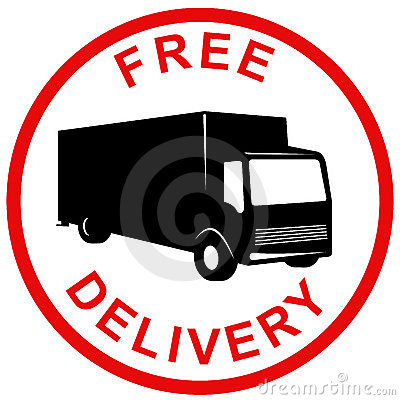 Free delivery symbol