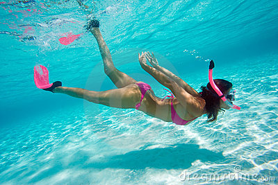 Free diver