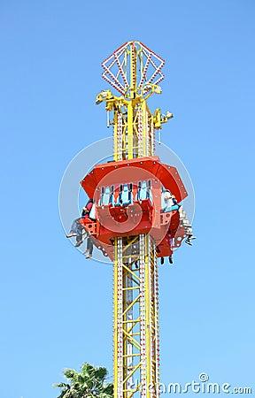 Free Free Fall Ride Royalty Free Stock Photos - 25220648