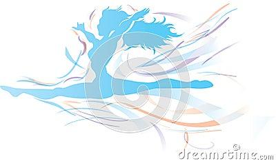 Free flowing Dancer Free flowing Dancer