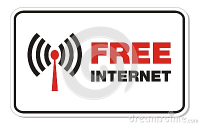 Free internet rectangle sign