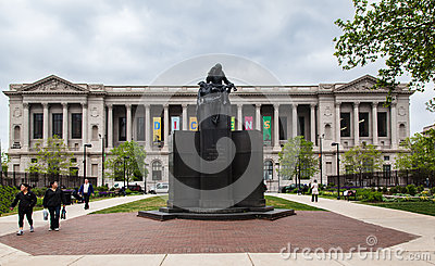 Free Library of Philadelphia Pennsylvania Editorial Photography