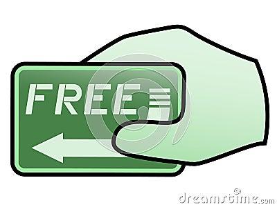 Free price card