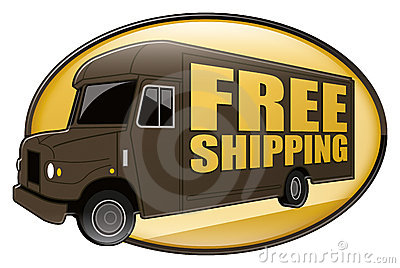 Free Shipping Delivery Truck Brown Royalty Free Stock ...Ups Delivery Truck Clipart