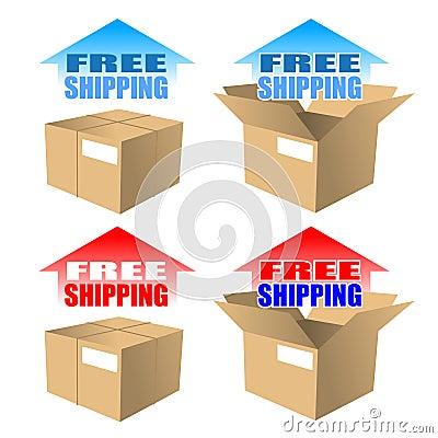 A Free Shipping Icon