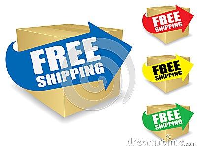 Free Shipping Icon EPS