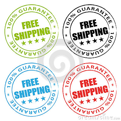 Free shipping stamps.