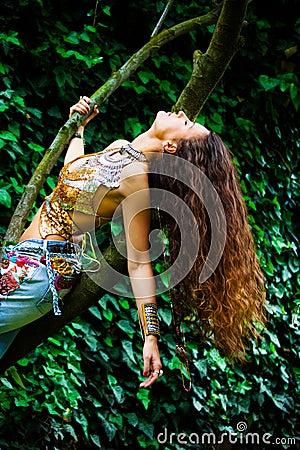 Free Spirit Woman Stock Photo Image 70412204